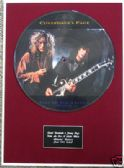 "COVERDALE&PAGE-Framed12""Picture DiscFOR A LITTLE WHILE"